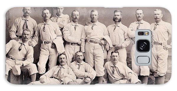 New York Metropolitans Baseball Team Of 1882 Galaxy Case