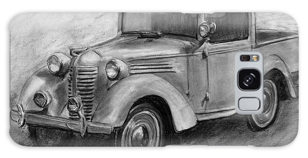 Old Truck Galaxy Case - Vintage Pick Up Truck American Bantam by Kate Sumners