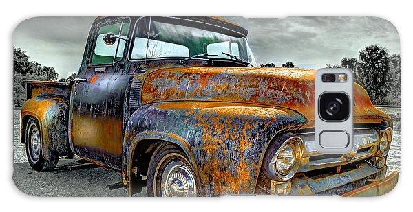 Vintage  Pickup Truck Galaxy Case