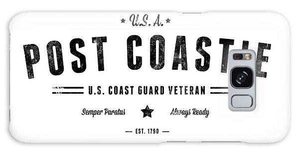 Vintage Post Coastie Galaxy Case