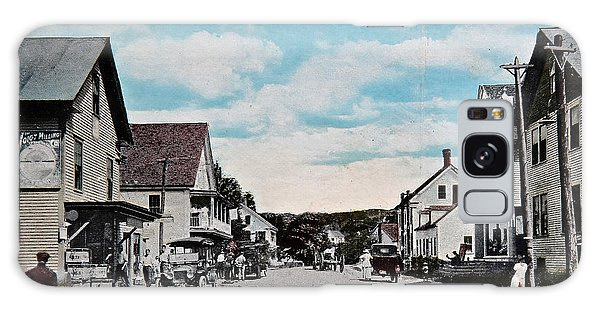 Vintage Postcard Of Wolfeboro New Hampshire Art Prints Galaxy Case by Valerie Garner