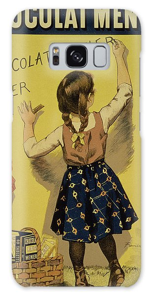 Vintage Galaxy Case - Vintage Poster Advertising Chocolate by Firmin Bouisset