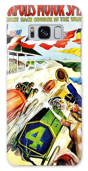 Vintage Poster - Sports - Indy 500 Galaxy Case