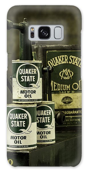 Vintage Quaker State Motor Oil Galaxy Case