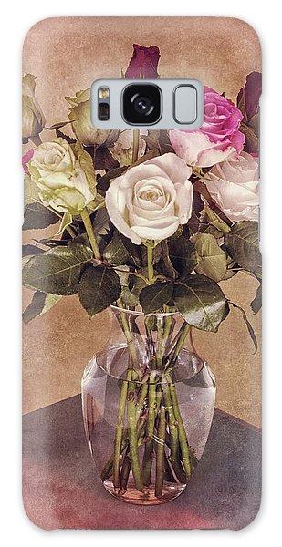 Vintage Roses Galaxy Case