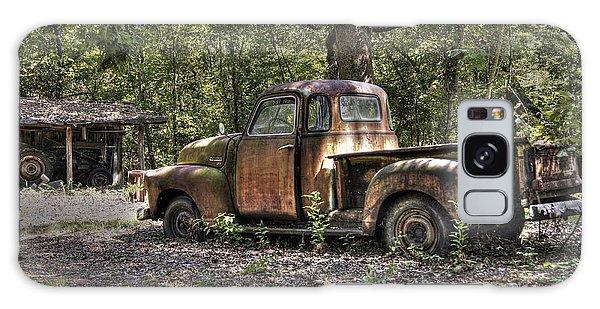 Vintage Rust Galaxy Case