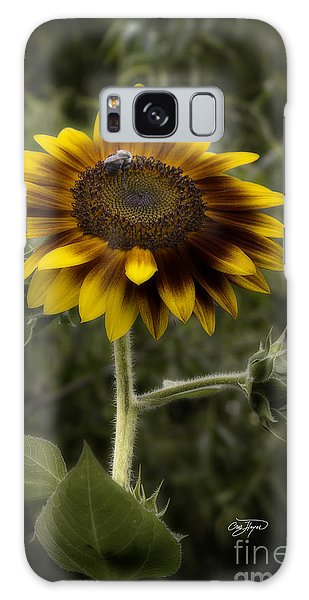 Vintage Rustic Sunflower Galaxy Case