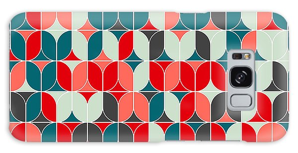 Concept Galaxy Case - Vintage Seamless Geometrical Colorful by Svetlana Lukoyanova