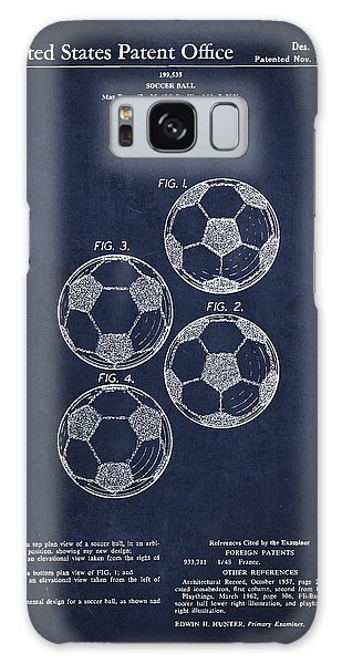 Vintage Soccer Ball Patent Drawing From 1964 Galaxy Case