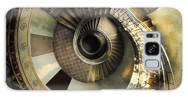 Vintage Spiral Staircase Galaxy Case