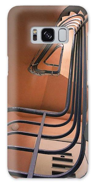 Vintage Spiral Stairs Galaxy Case