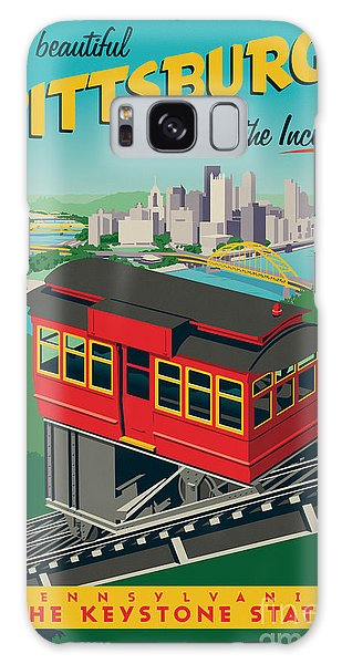 Poster Galaxy Case - Pittsburgh Poster - Incline by Jim Zahniser