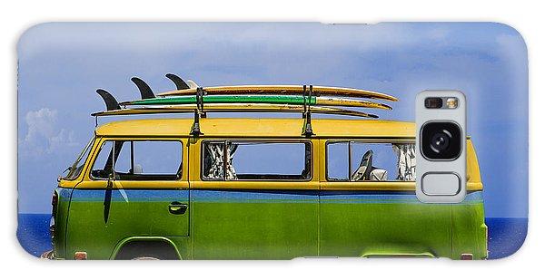 Volkswagen Galaxy Case - Vintage Surf Van by Diane Diederich