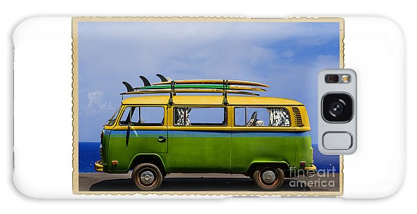 Vintage Surf Van Galaxy Case