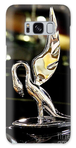 Vintage Swan Packard Hood Ornament Car Fine Art Photography Print  Galaxy Case