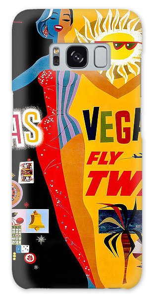 Vintage Travel Poster - Las Vegas Galaxy Case