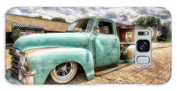 Vintage Truck  Galaxy Case by Emmanuel Panagiotakis