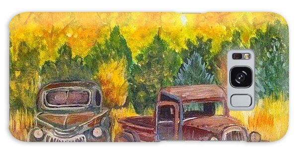 Vintage Trucks Galaxy Case by Belinda Lawson