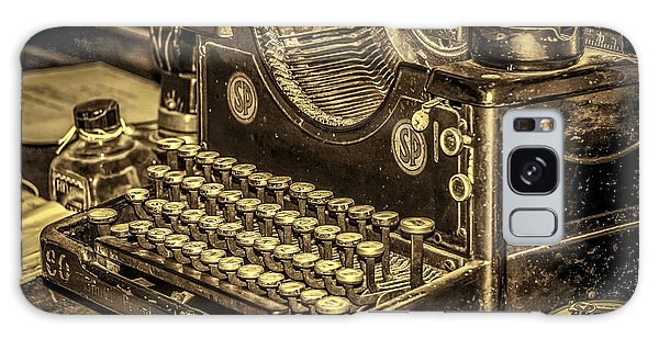 Vintage Typewriter Galaxy Case