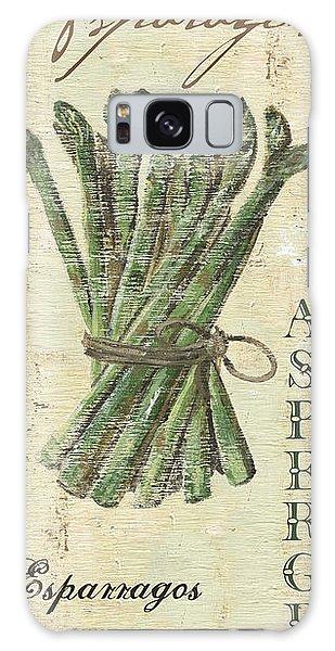 Asparagus Galaxy Case - Vintage Vegetables 1 by Debbie DeWitt