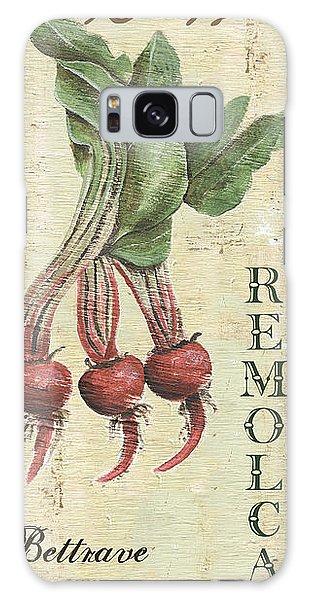 Rustic Galaxy Case - Vintage Vegetables 3 by Debbie DeWitt