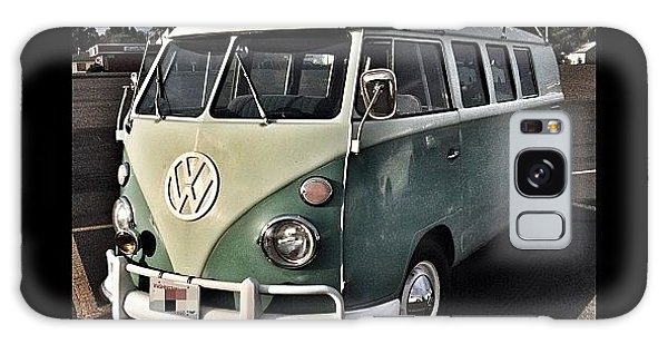 Vw Bus Galaxy Case - Vintage Volkswagen Bus 1 by Couvegal Brennan
