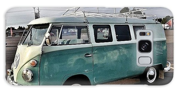 Vw Bus Galaxy Case - Vintage Volkswagen Bus 2 by Couvegal Brennan