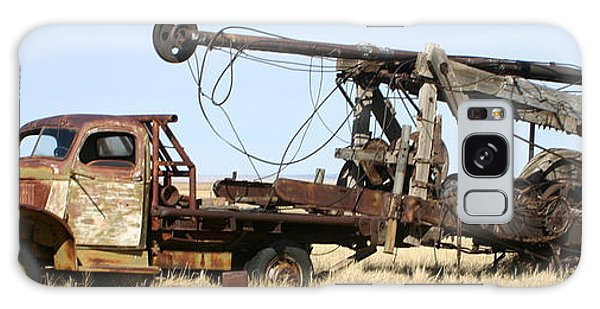 Galaxy Case - Vintage Water Well Drilling Truck by Jack Pumphrey