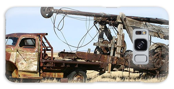 Vintage Water Well Drilling Truck Galaxy Case