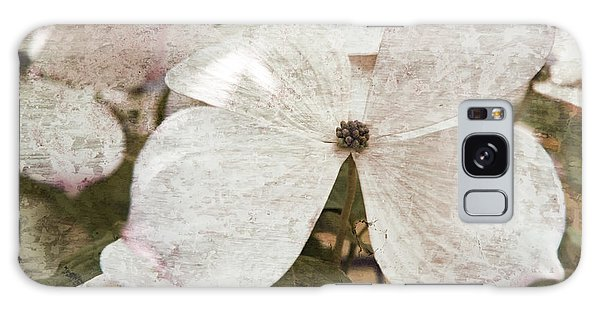 Vintage White Flowering Dogwood Galaxy Case