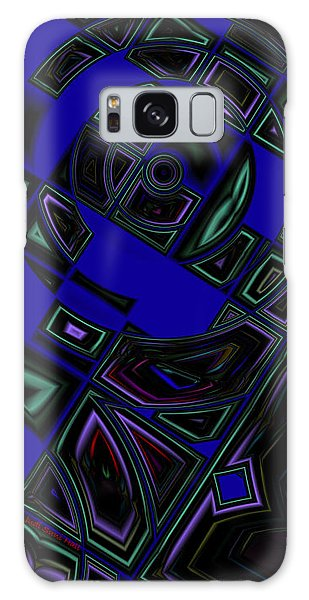Vinyl Blues Galaxy Case by Judi Suni Hall