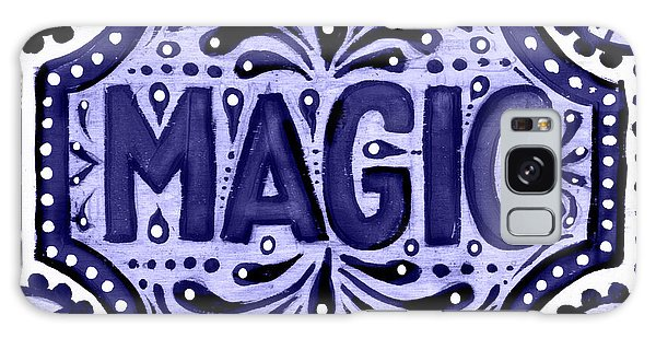 Violet Magic  Galaxy Case
