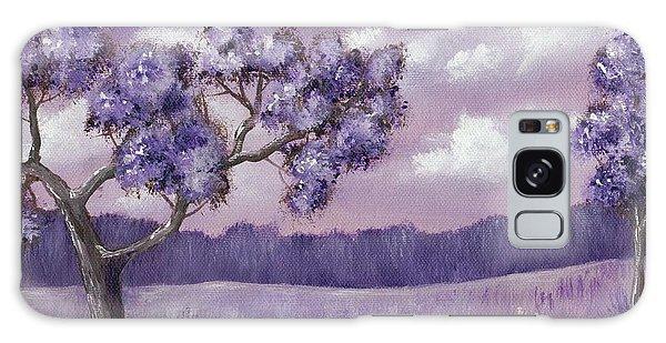Strange Clouds Galaxy Case - Violet Mood by Anastasiya Malakhova