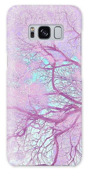 Violet Tree Galaxy Case