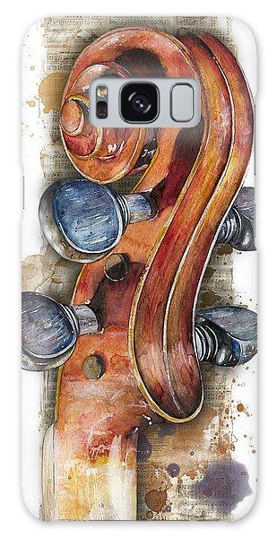 Violin 02 Elena Yakubovich Galaxy Case