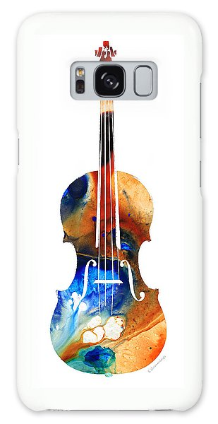 Violin Art By Sharon Cummings Galaxy Case