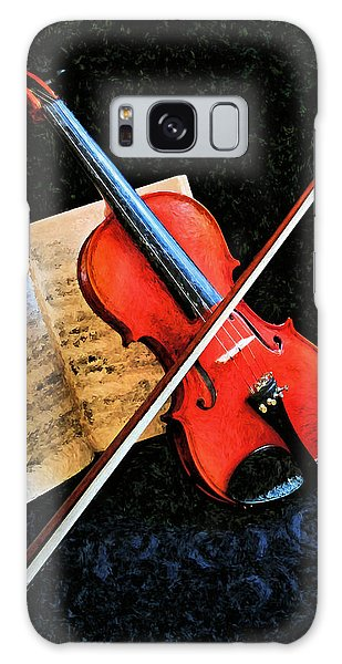 Violin Impression Redux Galaxy Case