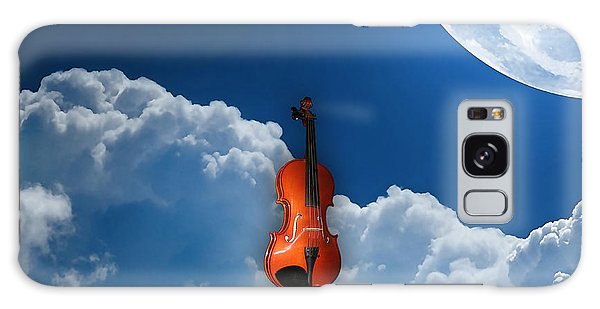 Violin In Heaven Galaxy Case