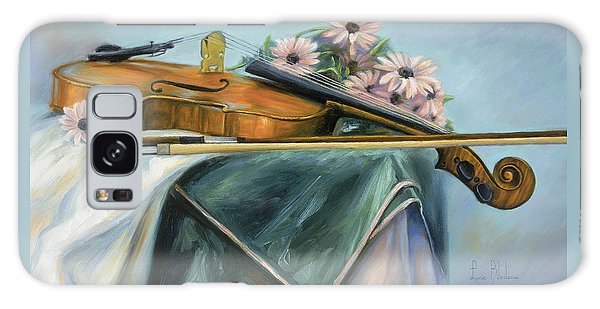 Violin Galaxy Case - Violin by Lucie Bilodeau