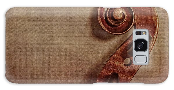 Violin Galaxy Case - Violin Scroll by Emily Kay