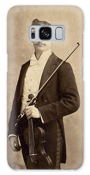 Violin Galaxy Case - Violinist, C1900 by Granger