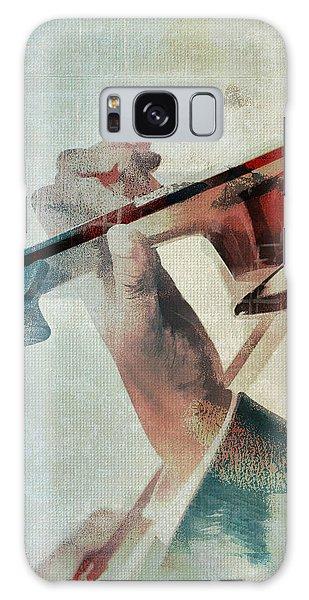 Violinist Galaxy Case by David Ridley