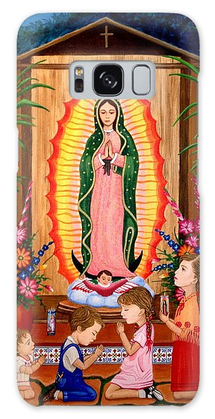 Virgen De Guadalupe #3 Galaxy Case