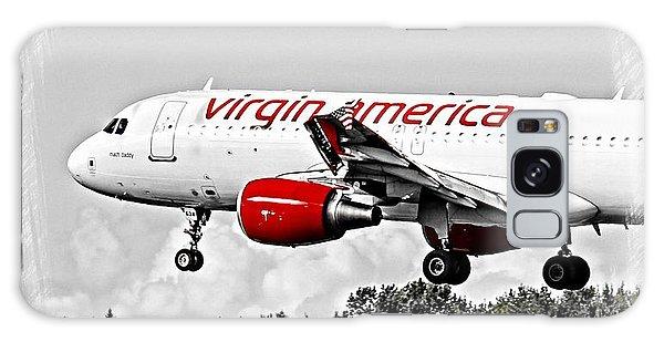 Virgin America Mach Daddy  Galaxy Case by Aaron Berg