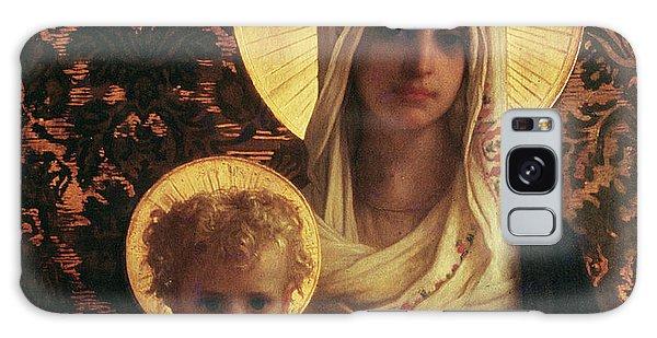 Savior Galaxy Case - Virgin And Child by Antoine Auguste Ernest Herbert