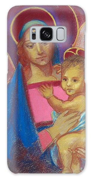 Virgin And Child Galaxy Case
