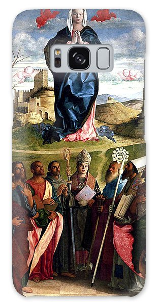 Virgin In Glory With Saints 1515 Giovanni Bellini Galaxy Case by Karon Melillo DeVega