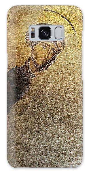 Virgin Mary-detail Of Deesis Mosaic  Hagia Sophia-day Of Judgement Galaxy Case