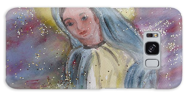 Virgin Mary Galaxy Case