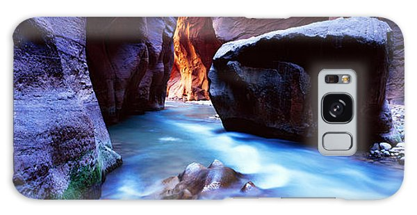 Virgin River At Zion National Park Galaxy Case